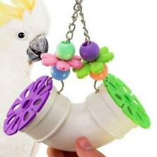 New listing Swing Pet Bird Toys Cages Chewing Bite Toys Parrot Cockatiel Parakeet H