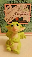 Rl � Pocket Dragons Dragon * �Mint In Box� * I Didn't Mean To * 1991 *