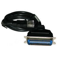 5 Ft USB 2.0 to IEEE 1284 36-pin CN36 Male Parallel Printer Scanner Data Cable