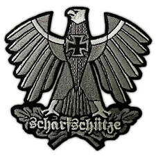 VEGASBEE® GERMAN ARMY SHARPSHOOTER SNIPER EAGLE IRON CROSS EMBROIDERED PATCH