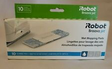 1 Box of 10 Wet Mopping Pads Clean Floor for iRobot