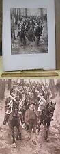 Vintage Print,ARMY OF RHINET MOSELLA,Paris Exhibition,1889
