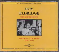 ROY ELDRIDGE 2 CD THE QUINTESSENCE  CHICAGO NEW YORK 1936 1975  FREMEAUX