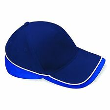 Baseball Cap Adjustable Classic Cotton Summer Mens Ladies Hat Contrast Two Tone