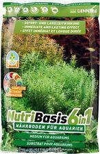 (2,60 EUR/kg) Dennerle Nutri Basis 6in1 Bodengrund Dünger Nährboden 9,6kg