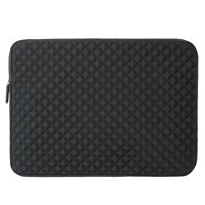 "Diamond Black Sleeve Case For Asus Acer Lenovo Dell Samsung 15"" ~ 15.6"" Laptop"