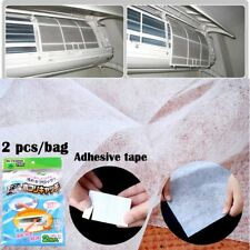 2 Pcs/set Purify Air Condition Filter Cleansing Car Ac System Mesh Cloth