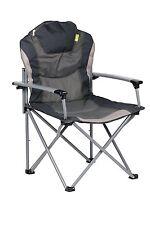 GUV'NI PLIANT LÉGER CAMPING fauteuil siège pliable gris charbon fauteuil