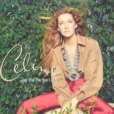 CELINE DION - Live (For the one i love) CDs SINGLE SIG