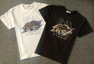 BNWT Ena Pelly Womens Tigers Eye Tee Sleeve Cotton Jersey Crew T-shirt Tops 6-16
