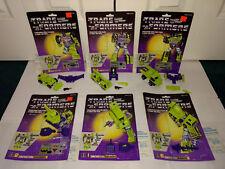 Constructicon Devastator G1 Transformers Hasbro 1984 Cardbacks Unused Decals +