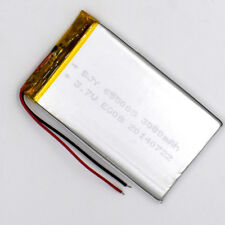 10pcs 3.7V 3000mAh Li-Polymer Rechargeable Battery Li Po Cell for GPS MP4 655085