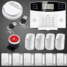 108 Zones Wired Wireless GSM Home Burglar Security Fire Alarm System Auto Dialer