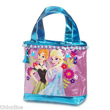 Authentic Disney Frozen Princess Anna Elsa Girl Swim Beach Bag