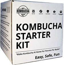 "Get Kombucha Organic Kombucha Starter Kit 6.5"" Organic Scoby Largest Culture ..."