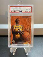 1996-97 Upper Deck Kobe Bryant Rookie Exclusives #R10 PSA 8 NmMt🔥🔥