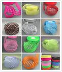 100Yards 25mm dot Satin Edge Sheer Organza Ribbon Bow Craft Wedding DIY