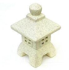 Ceramic Japanese Tea Light Lantern Candle Holder Oriental Garden Ornament Outdoo
