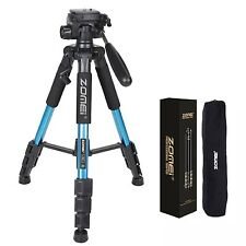 Zomei Q111 Universal Aluminium Travel Tripod Monopod&ball Head for DSLR Camera