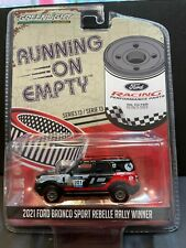 Greenlight 164 Running On Empty S 13 2021 Ford Bronco Sport Rebelle Rally