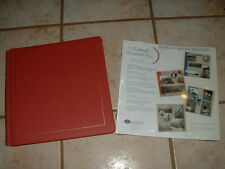 Creative Memories Barn Red Album w/15 Natural Pages + 1 Pkg Refill for Total 30