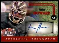 2016 HIT RED DOLPHINS XAVIEN HOWARD RC AUTO BAYLOR BEARS #A15