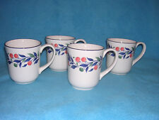 """Lugano by Johnson Brothers Set of 4 Coffee Mugs New in Box, 3 3/4"""""""