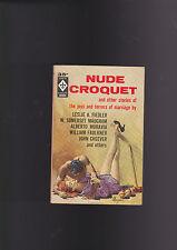VINTACE CRIME PB.BERKLEY#D-2034.NUDE CROQUET.MAGUIRE COVER.NICE COVER.NICE COPY!