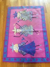 "Baby Nursery Area Rectangel Kids Rug Fairy Princess 33"" x 47"""