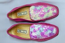 Ladies HB Loafers, Fuchsia Pink, Size 39/ 6