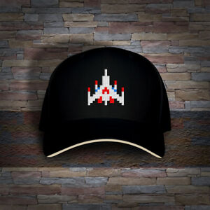 Galaga Retro Arcade Video Game Embroidered Cap Hat