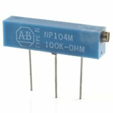 5pcs Allen Bradley Precision Trimmer Potentiometer 100k Ohm 20 Turn Np104m