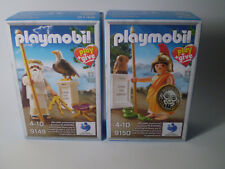 Special Playmobil PLAY & GIVE Figs 9147 & 9150 Ancient Greek Gods ATHENA & ZEUS.