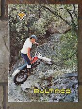 Bultaco Sherpa T 350 Sales Brochure, Original NOS