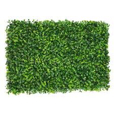 60x40CM Fake Artificial Green Wall Vertical Garden Screen Plants Hedge Decors