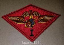 WW2 ERA US MARINE CORPS FIRST 1st MARINE AIR WING PATCH - SECOND DESIGN