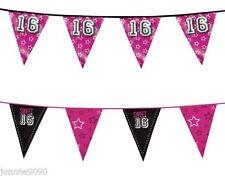 Guirlandes et bannières de fête anniversaire-enfant sans marque pour la maison