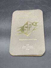 1996 Michael Jordan UPPER DECK SPX DIE-CUT HOLOGRAM PROMO Rare Folder Lot1706