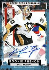 2015-16 Upper Deck Portfolio Autographs #223 Matt Murray D Penguins
