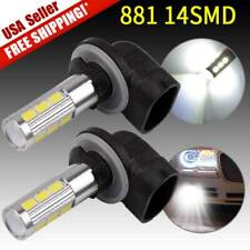 2x 6000K White High Power 881 862 884 885 Led Bulb Fog Driving Light Lamps Us