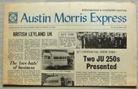 AUSTIN MORRIS EXPRESS Car Company Newspaper Oct 1972 VDP BRITISH LEYLAND