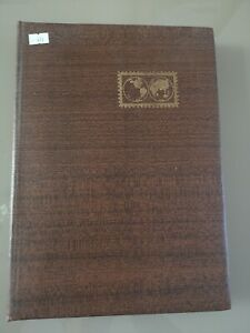 Old World stamp collection in Stock Book