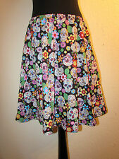 SKULL CANDY SUGAR SIZE 8 26 SKIRT DRESS GOTHIC BOW GOTHIC CUSTOM MADE TO ORDER