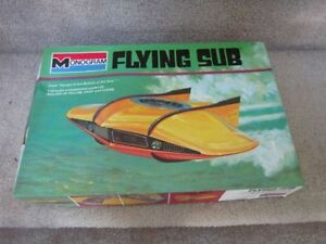 monogram 6011 Flying Sub Voyage to the Bottom of the Sea new inthe box no cello