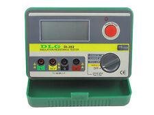 DLG DI-302 2500V 20G ohm Digital Insulation Resistance Tester Megger