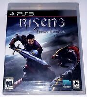 Risen 3 Titan Lords Sony Playstation 3 ps3 NEW Factory Sealed (Hole in Barcode)