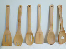 In My Home 6 piece Bamboo Utensil Set (Lightweight and easy to clean!)