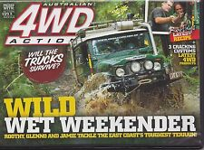 4WD Off Road Action DVD # 184 * Wild Wet Weekender * Coff's Harbour