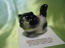 Hagen Renaker Fat Cat Black/White Figurine Miniature 04097 Ceramic NEW