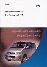 VW - T5 - Selbststudienprogramm 310 - Der Transporter 2004  - nl-Versandhandel